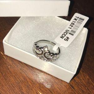 Sterling Silver Princess Crown / Tiara Ring